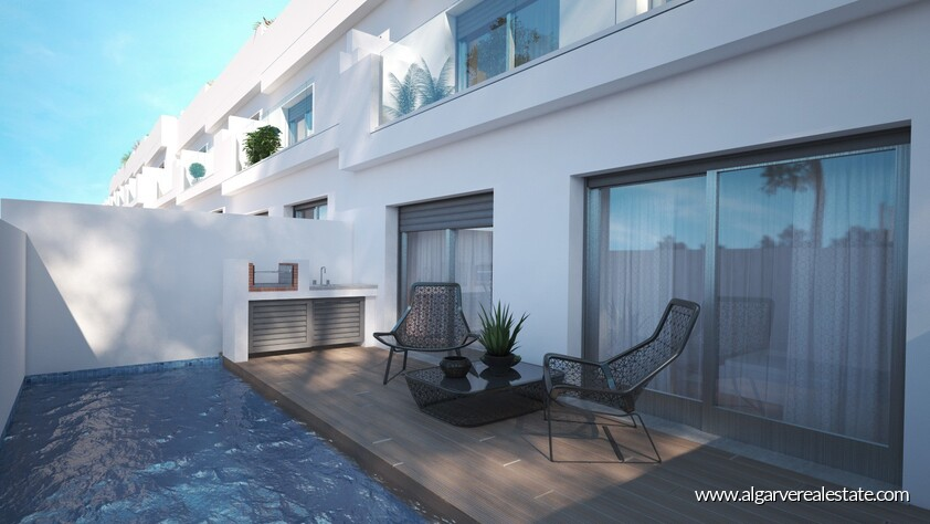 3 bedroom villas with private pool located in Fuseta-Olhão