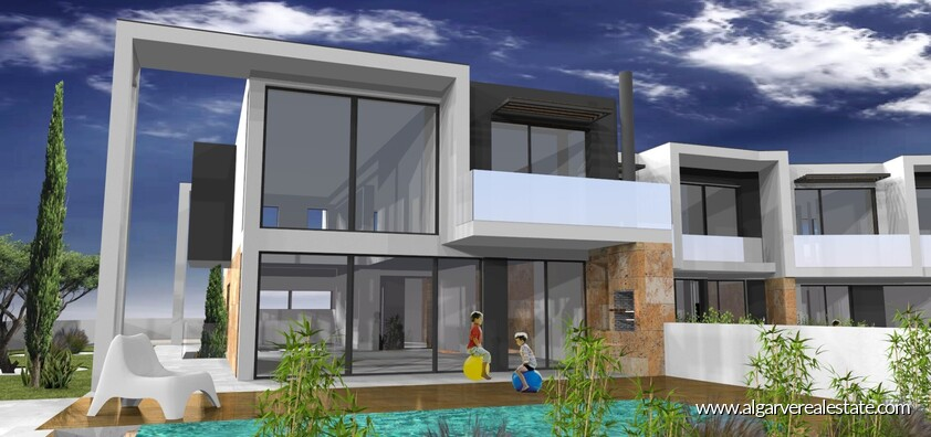 Modern 4 bedroom villa under construction in Albufeira