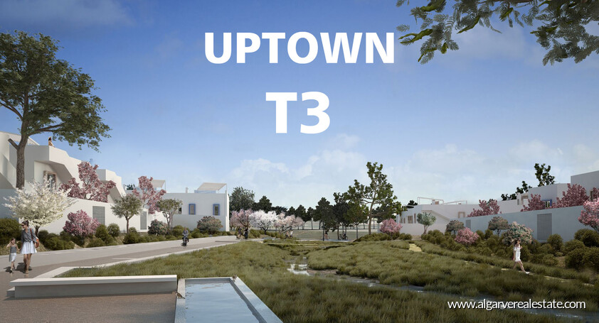 T3 apartments (town houses) UPTOWN in Vilamoura