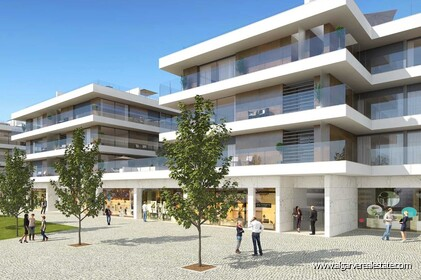New apartments with 3 bedrooms in Albufeira 8 minutes from the beach