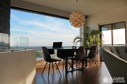 Luxury apartment with 1 bedroom and a panoramic view of Ria Formosa