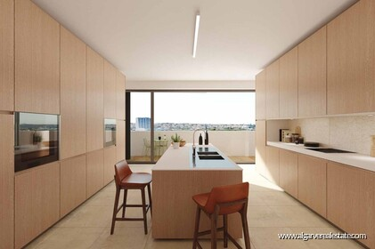 New apartments in gated community with pool in Faro  - 6