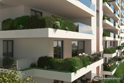 2 bedroom apartments located in a private condominium with swimming pool in Faro - 0