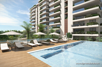 3 Bedroom apartments located in a private condominium with swimming pool in Faro