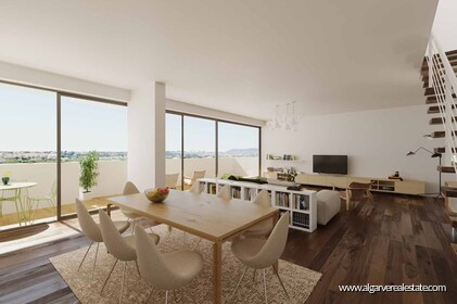 New gated community with swimming pool in Faro  - 0
