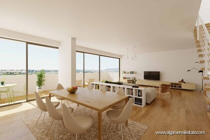 New gated community with swimming pool in Faro  - 1