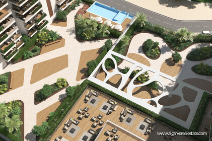Penthouse T4 Duplex located in gated condominium with swimming pool in Faro - 13