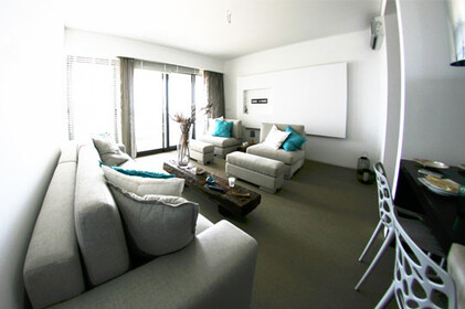 2 bedroom apartment, condominium modern lines, on the first line of the Ria Formosa Natural Park - 1107