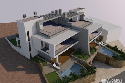 Land with approved project for the construction of 2 villas - 9548