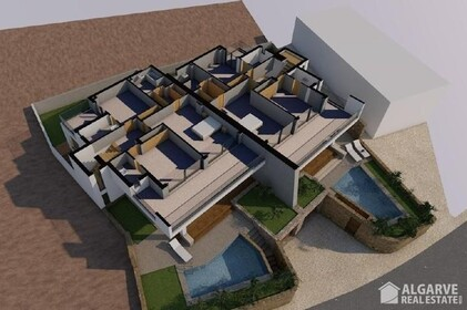 Land with approved project for the construction of 2 villas - 9547