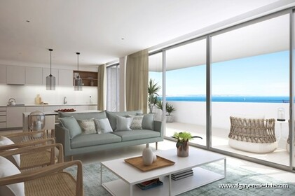 Luxury apartments with 3 rooms under construction