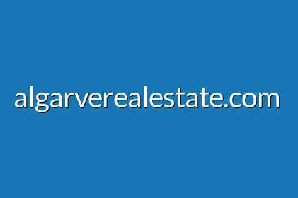 Bungalow with 4 bedrooms and pool with sea view- Luz