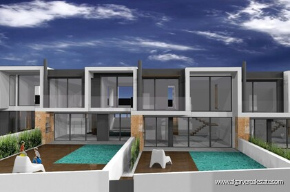 Modern 4 bedroom villa under construction in Albufeira - 0