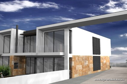 Modern 4 bedroom villa under construction in Albufeira - 9