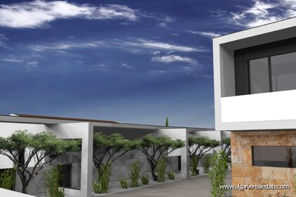 Modern 4 bedroom villa under construction in Albufeira - 11