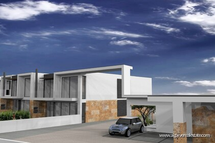 Modern 4 bedroom villa under construction in Albufeira - 21