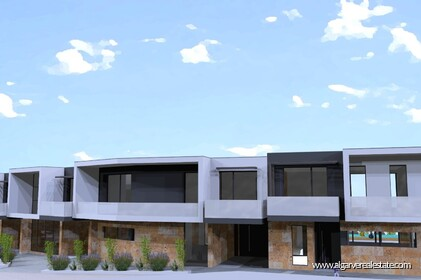 Modern 4 bedroom villa under construction in Albufeira - 23