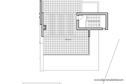 Land with approved project for the construction of 2 villas - 22092
