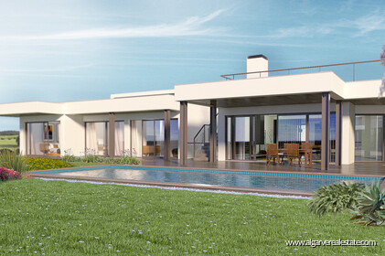 V3 luxury villa in final construction located in Lagos