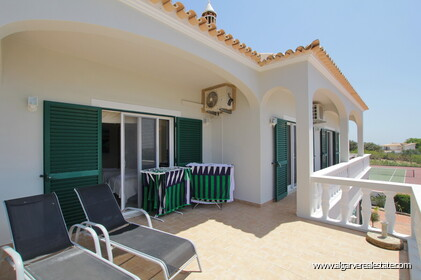 Villa with 5 bedrooms, swimming pool and tennis court with sea view - Loulé - 18