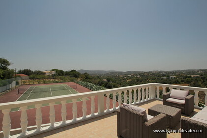 Villa with 5 bedrooms, swimming pool and tennis court with sea view - Loulé - 25