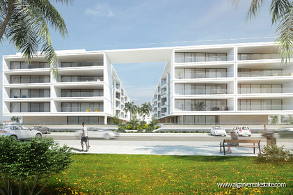 Contemporary style apartments under construction with 1 room - 24227