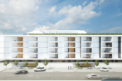 Contemporary style apartments under construction with 2 rooms - 24218