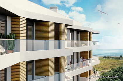Apartments with sea view for sale in Quarteira The5