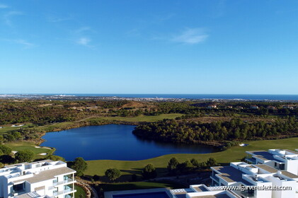 Apartments located on Monte Rei Golf