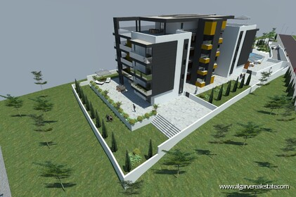 Two-room apartments with pool at 400 m from the beach in Quarteira - 8