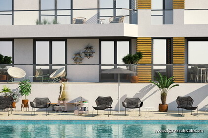 Apartments with sea view for sale in Quarteira The5 - 3