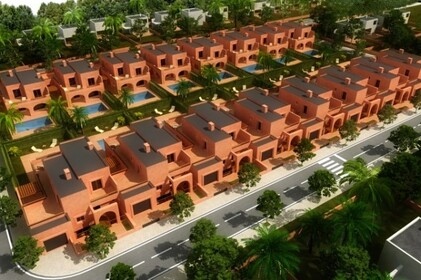 Plots for villas in peaceful area near the beach and golf - 8404
