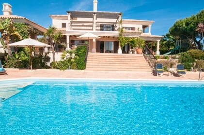 Villa with 4 bedrooms and Office with lake view- Quinta do Lago - 9862