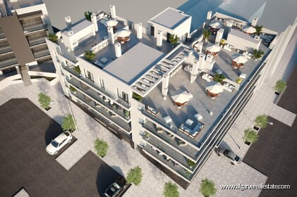 Condominium under construction in Tavira with apartments T2 2 km from the center