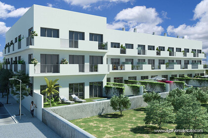 Three bedroom apartments for sale in Tavira with sea view
