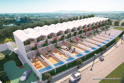 Villas for sale in Tavira in the new Tavilla condominium.
