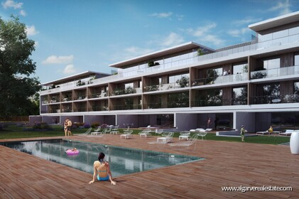 Apartments with 2 bedrooms in private condominium - Vilamoura