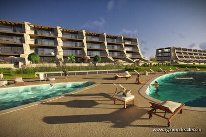 New apartments with 2 rooms in condominium with swimming pool-Vilamoura - 6