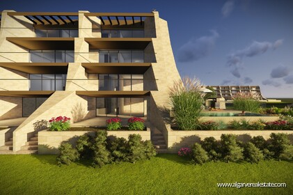 New apartments with 2 rooms in condominium with swimming pool-Vilamoura - 8