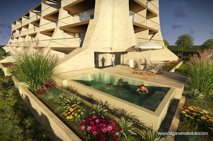 New apartments with 2 rooms in condominium with swimming pool-Vilamoura - 9