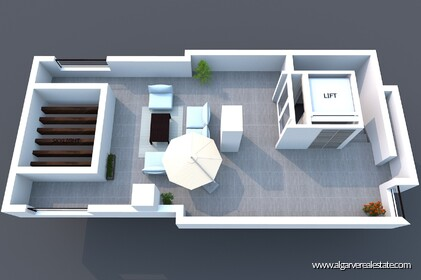 Luxury penthouse with 3 bedrooms and sea view - 16248