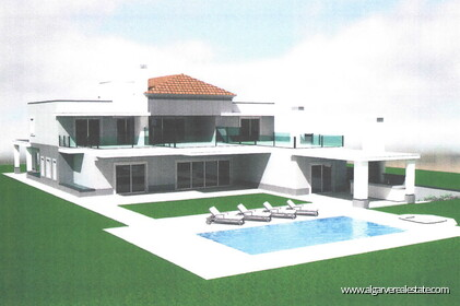Luxury villa with 5 bedrooms and golf view