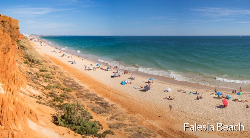 Falésia Beach between Albufeira and Vilamoura
