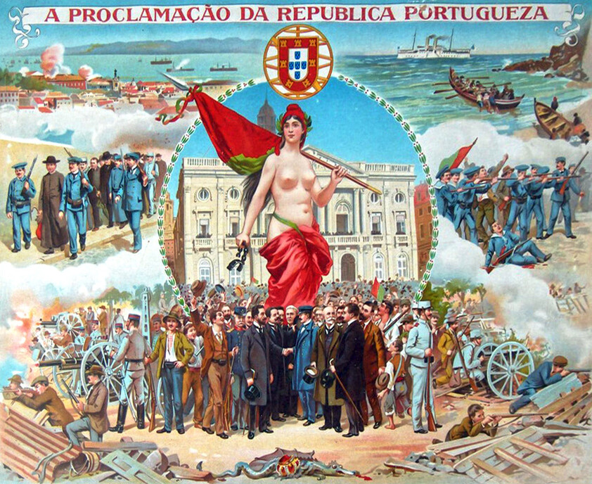 Announcement of the Portuguese Republic