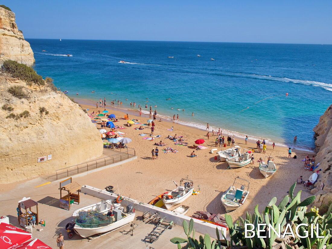 Worksheet. Benagil Beach Lagoa  Algarve