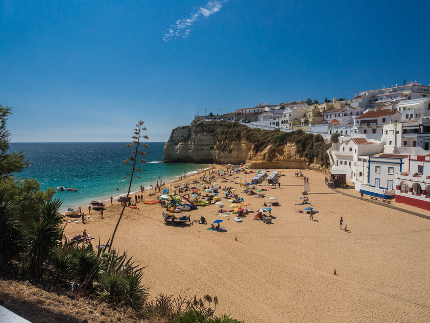 Carvoeiro village and beach