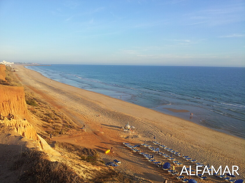 The hotel Alfamar has an area of beach known for Alfamar Beach