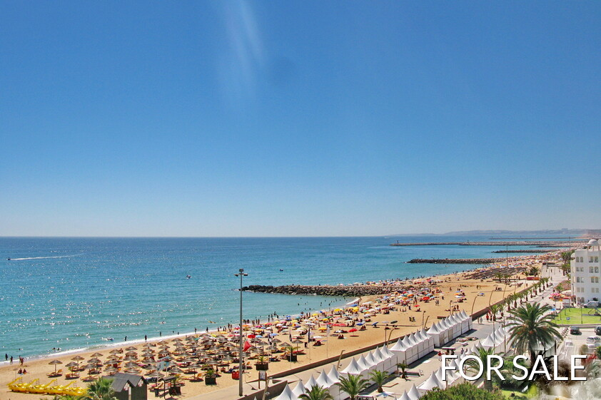 View of Quarteira from an apartment for sale