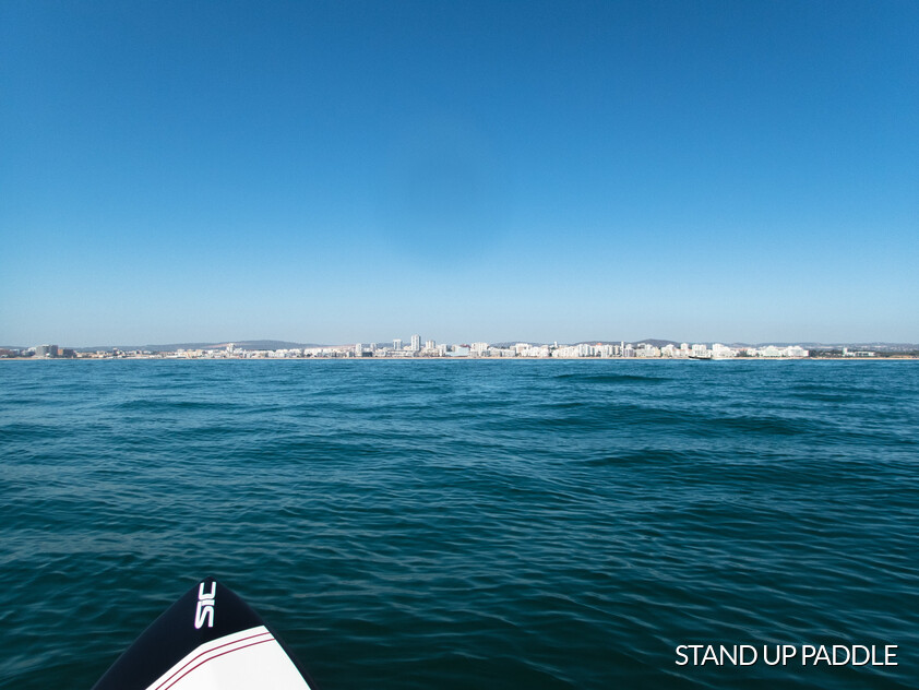 stand up paddle in Quarteira