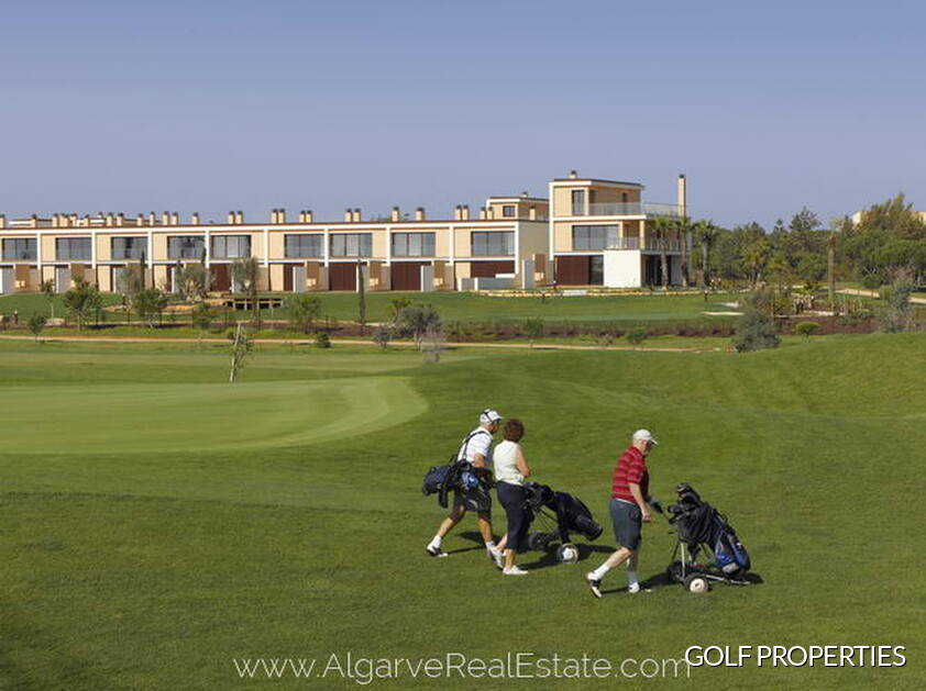 homes of golf in Vilamoura
